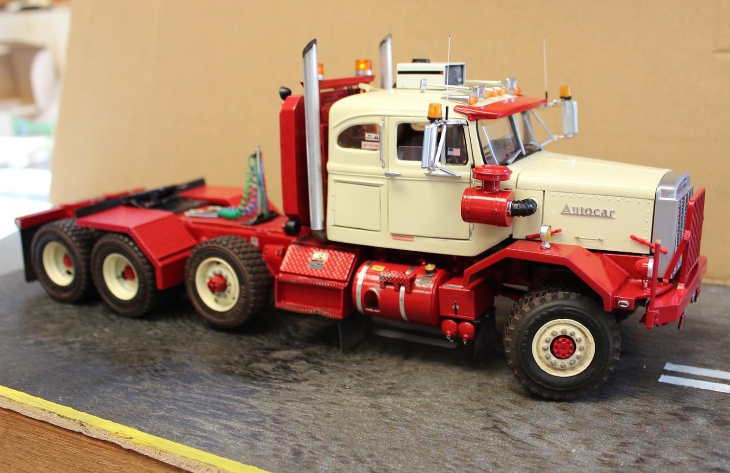 Autocar American Industrial Truck Models