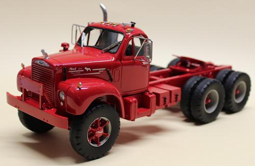 Mack Truck Model Kits : Mack b american industrial truck models