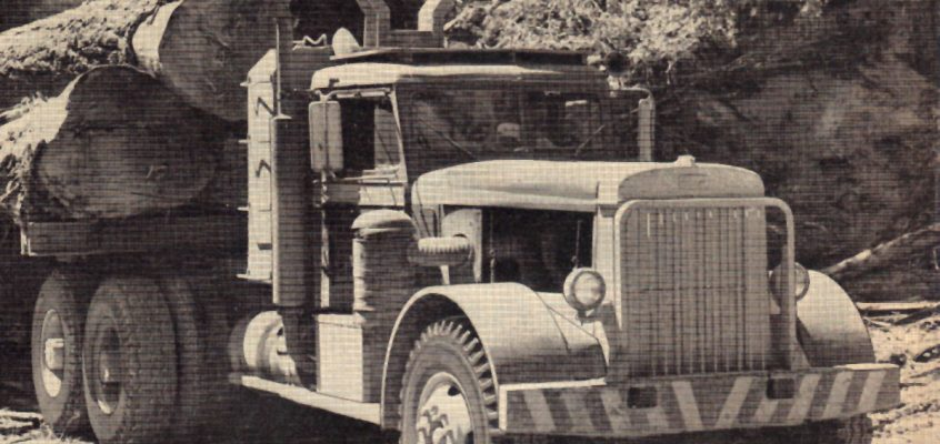 New 1950 Peterbilt Logger Conversion Kit