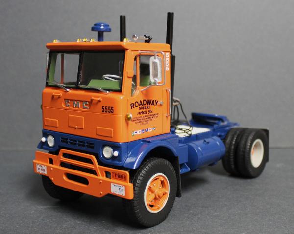 "Semi Truck Seats >> GMC ""Crackerbox"" Day Cab – American Industrial Truck Models"