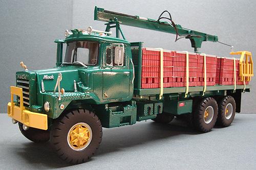 Mack Truck Model Kits : Mack dm american industrial truck models