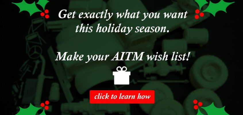Make Your AITM Wish List!